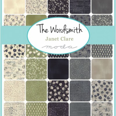 Janet Clare Wordsmith Fabric