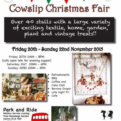 Cowslip Christmas Fair