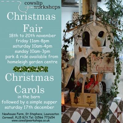 Christmas Fair at Cowslip