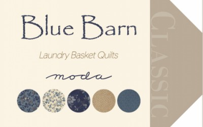 Blue Barn by Laundry Basket Quilts