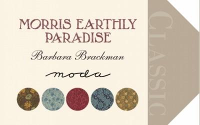 William Morris Earthly Paradise by Barbara Brackman for Moda