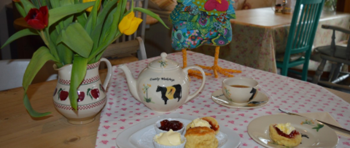 light lunches and cream teas Launceston