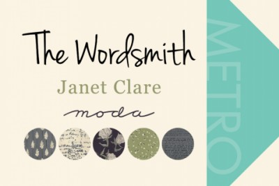 Wordsmith Janet Clare Fabric